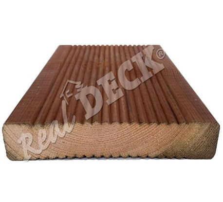 Pine decking pressure impregnated bochemit