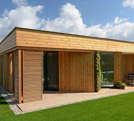 Siberian larch cladding wood facade wooden cladding - Exterior cladding cost comparison ...