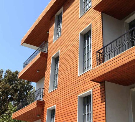Thermo Pine Cladding Thermal Wooden Cladding Pine Wood