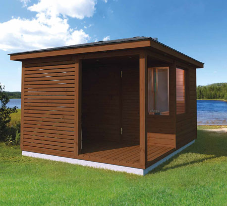 Outside Saunas