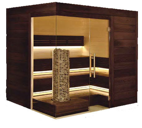 Custom Made Saunas Wood