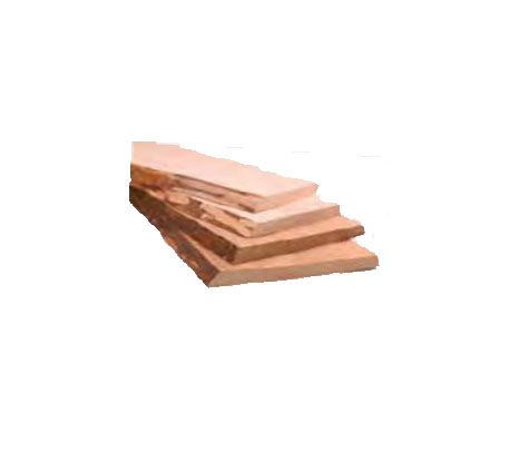 Hs Unedged Timber Sauna Wood Material Wall Boards