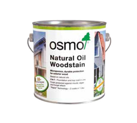 Natural Oil Woodstain for Wood Cladding