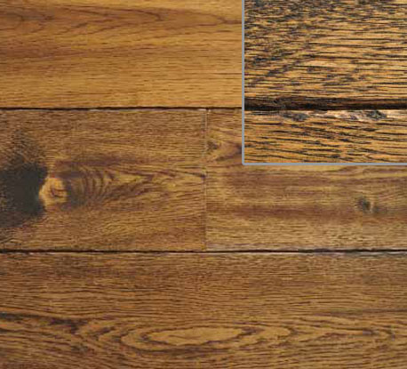 Old Chapel Hand Scraped Line Wooden Flooring