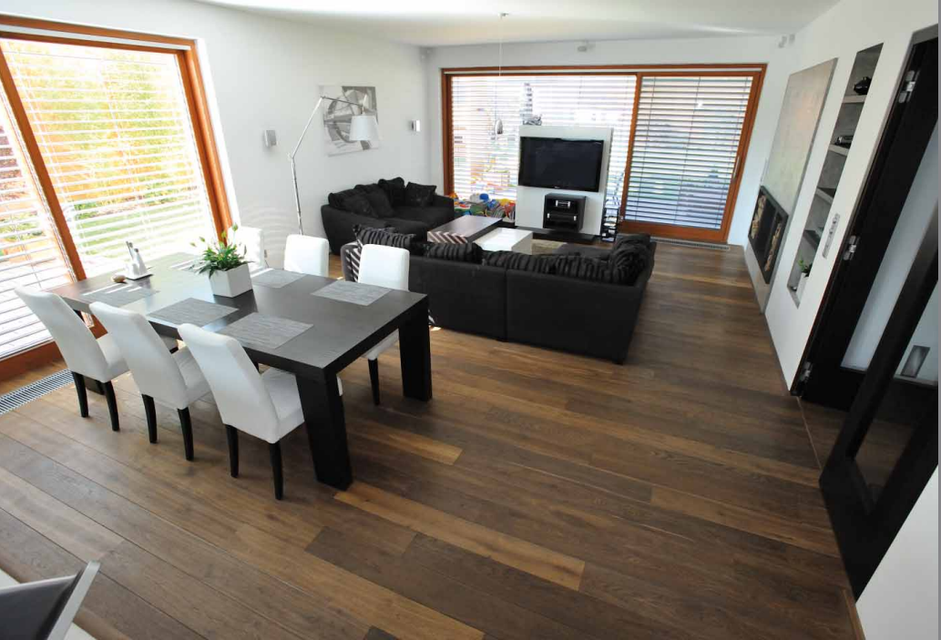 solid oak wooden flooring