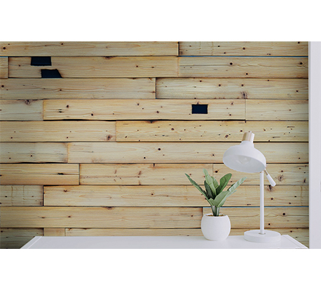 3D Old Wood Design Siding