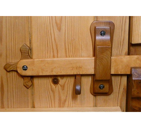Latches and Hinges Design Wood Siding