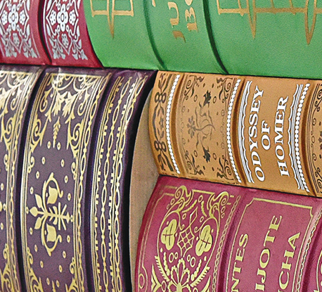 Spines Of Books