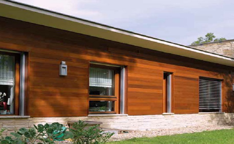 Western Red Cedar for Facade Profiles